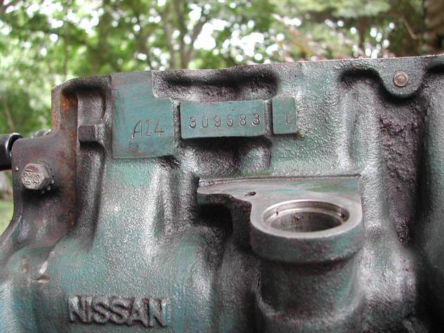 on Olds Engine Block Casting Numbers