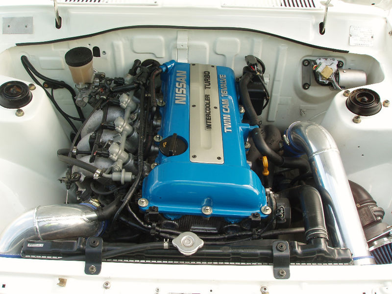 Tech Wiki - SR engine swap : Datsun 1200 Club