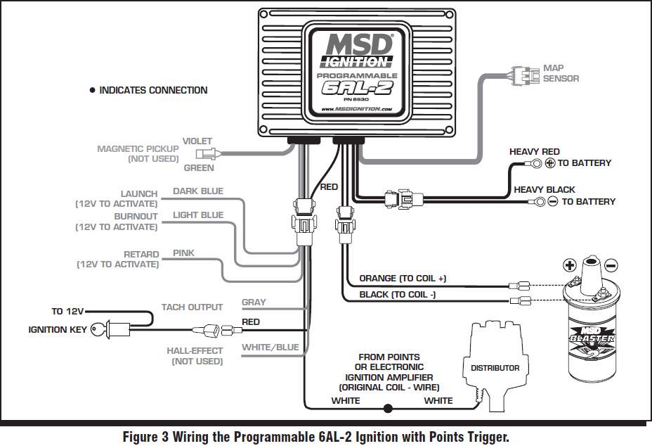 msd ford ready to run distributor wiring diagram  u2022 wiring