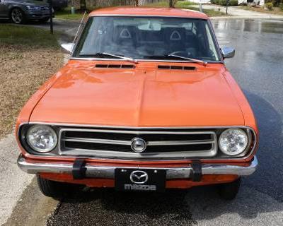 orange 1973 coupe rotary durham carolina usa forum classifieds datsun 1200 club