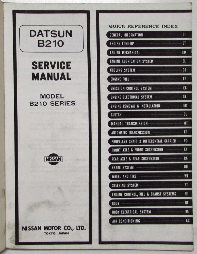 Tech Wiki - 63-Series Transmission : Datsun 1200 Club