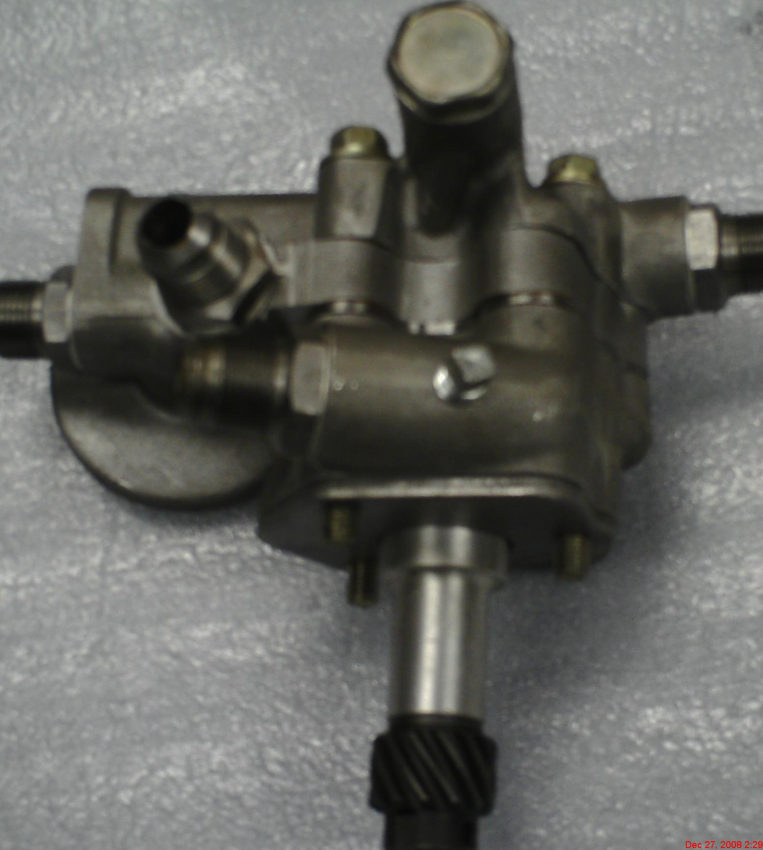 Tech Wiki - Competition Oil Pump : Datsun 1200 Club