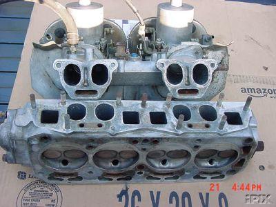 A12 GX head, manifold and carbs