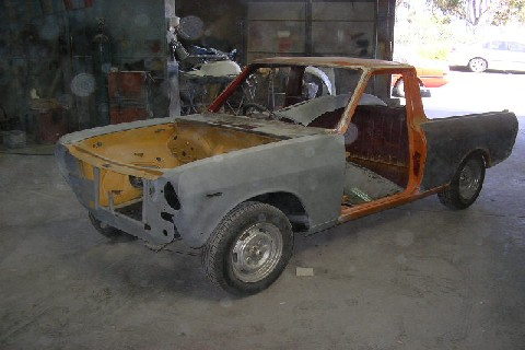 My 1000 ute project!