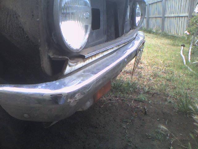 front bumper sedan