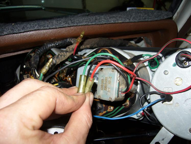 Tech Wiki - Instrument Panel Wiring : Datsun 1200 Club Datsun Wiring Diagram on
