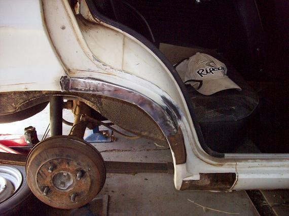rust/dent repairs