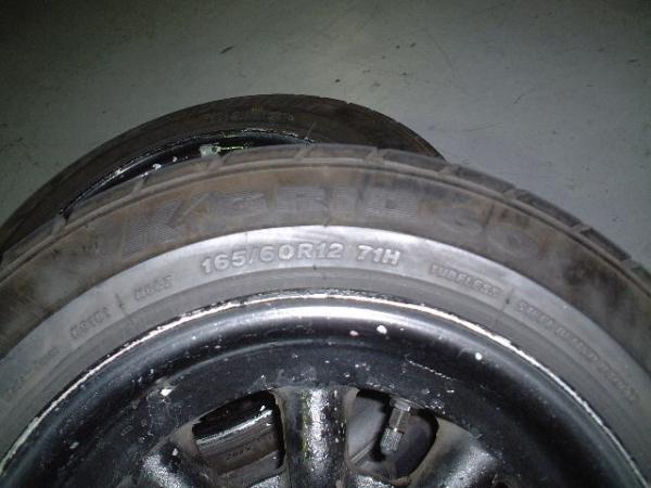 tire: 165-60R12