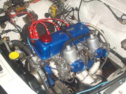 JDM 1000 2DR White Engine