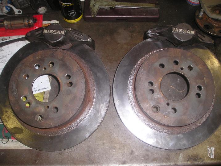 Tech Wiki - Rear Disc Brakes : Datsun 1200 Club
