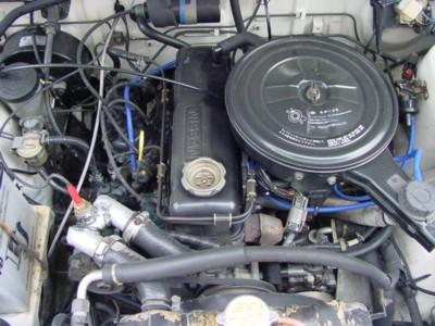 91 truck engine
