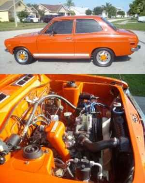 Fanta Orange 2-Door Sedan