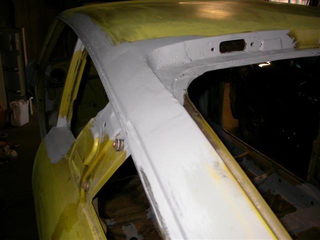 120Y Project - rust repair