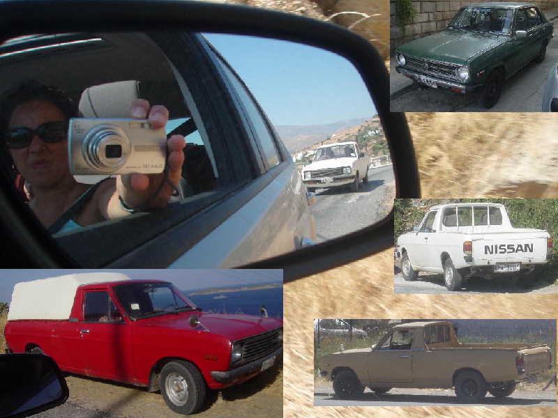 Datsun 1200's in Greece