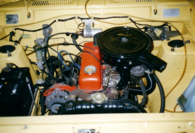 1200 Ute A15 Engine Bay