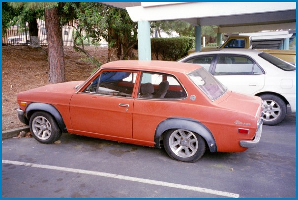 73 Datsun 1200 Sedan For Sale in Calif.