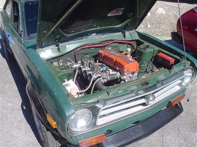 Tech Wiki - KA Engine Swap : Datsun 1200 Club