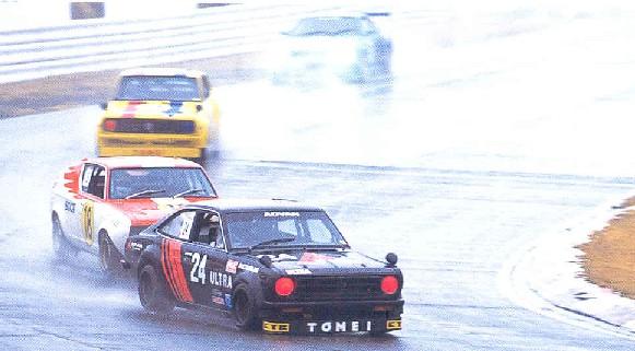 classic Japanese race cars