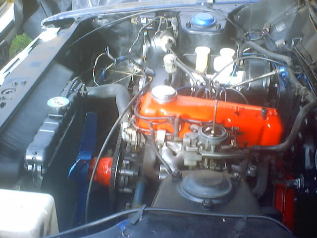 120y coupe engine bay 2