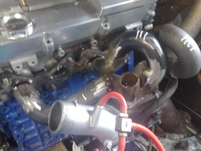 ca18det exhaust manifold progress