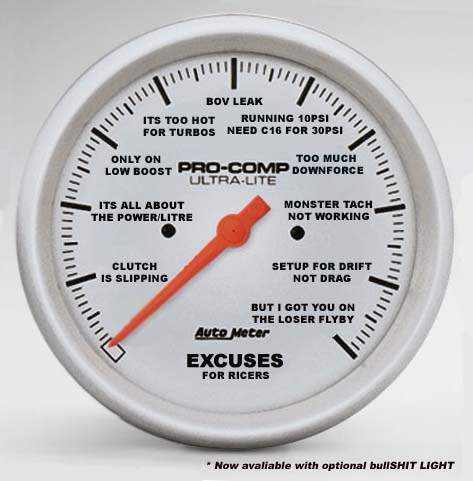 Autometer Excuse Guage