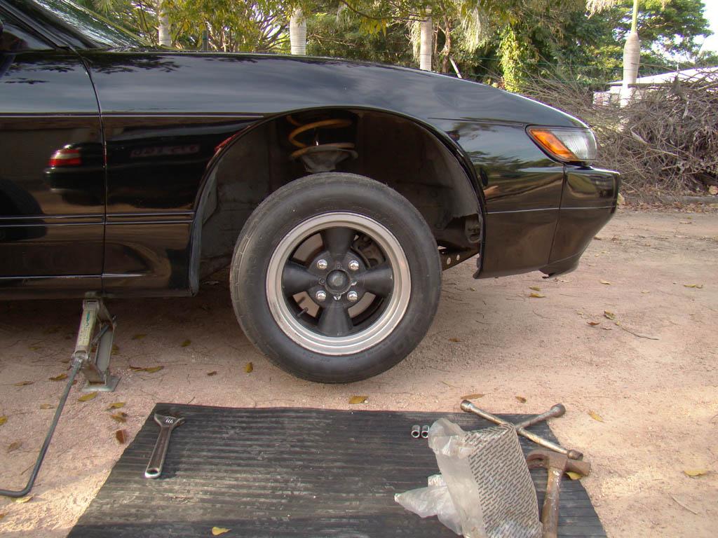 Tech Wiki - S13 Strut Swap : Datsun 1200 Club