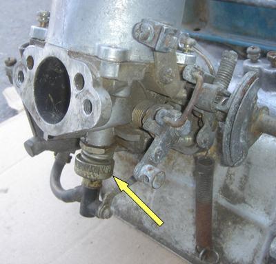 Idle Adjusting nut, Hitachi HJE38W