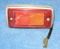 Rear side marker lamp