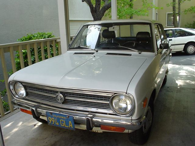 2-dr sedan - front