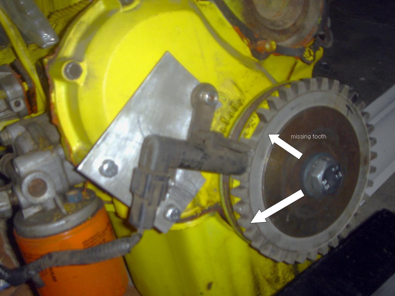 Crank Trigger Sensor : Datsun 1200 Club