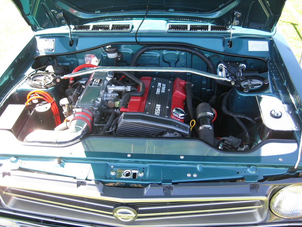 Tech Wiki - CA-Series Engine Swaps : Datsun 1200 Club