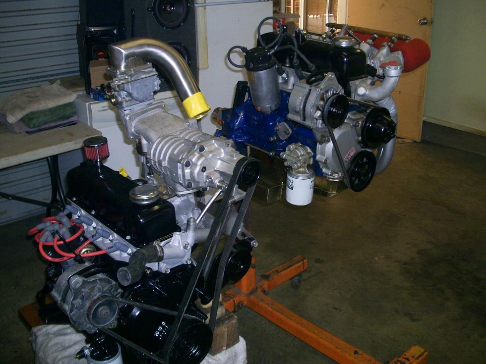 supercharged a15/a15 race engine