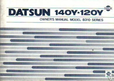 140Y Owners manual