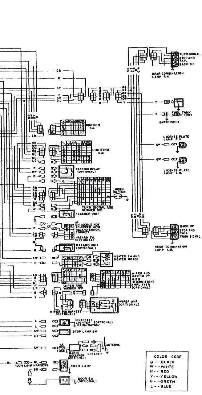 b120 wiring diagram 3  3   datsun 1200 club
