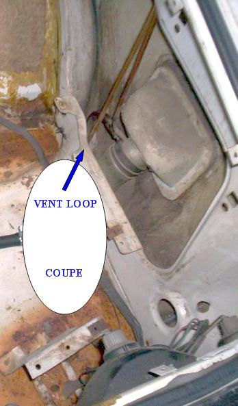 Coupe Fuel filler & Vent