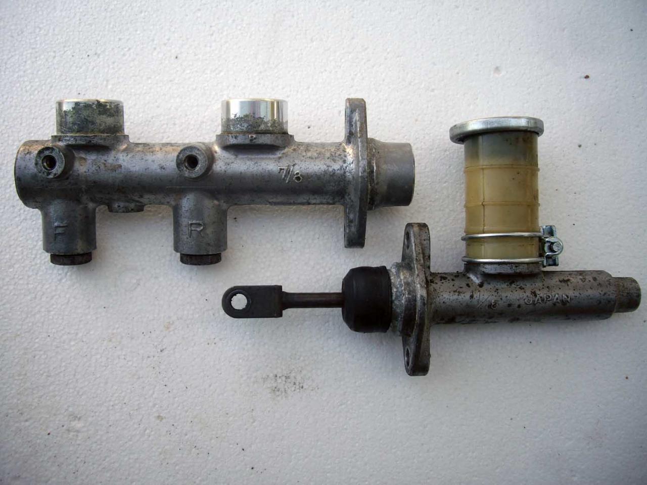 Tech Wiki - Brake master cylinder : Datsun 1200 Club