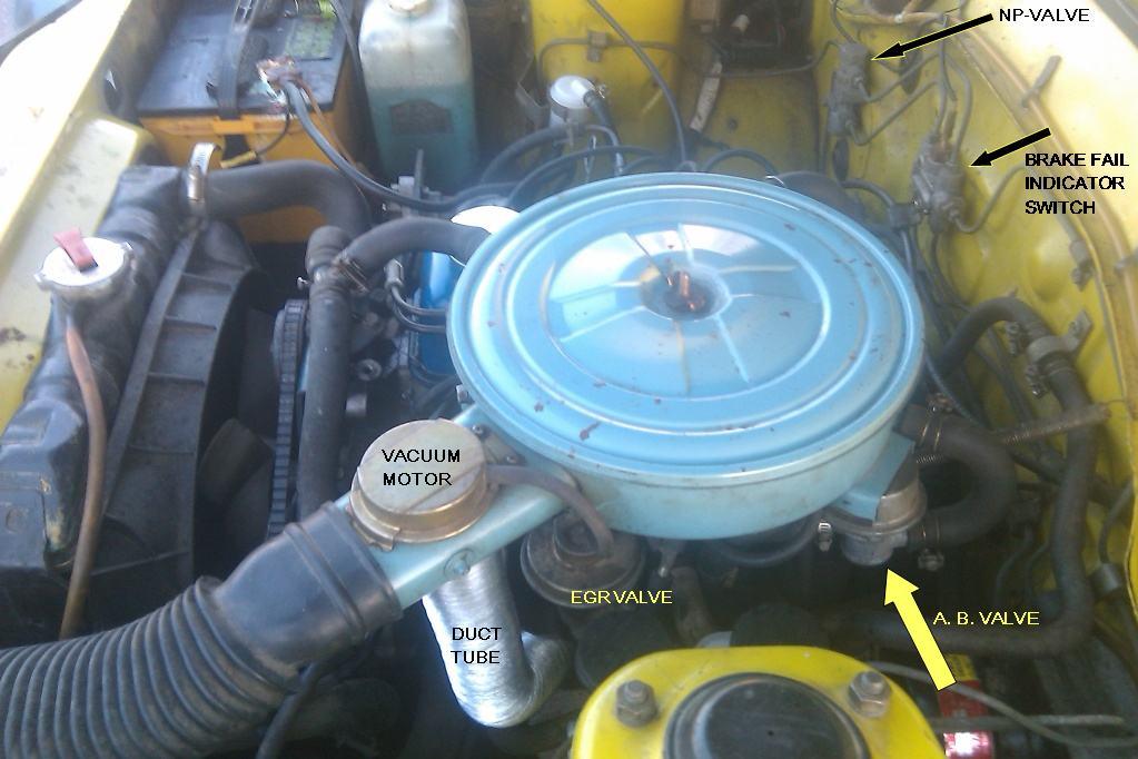 1978 B210    vacuum       hose    routing  B210  Ratsun Forums