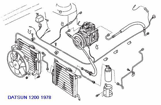datsun b210 wiring diagram