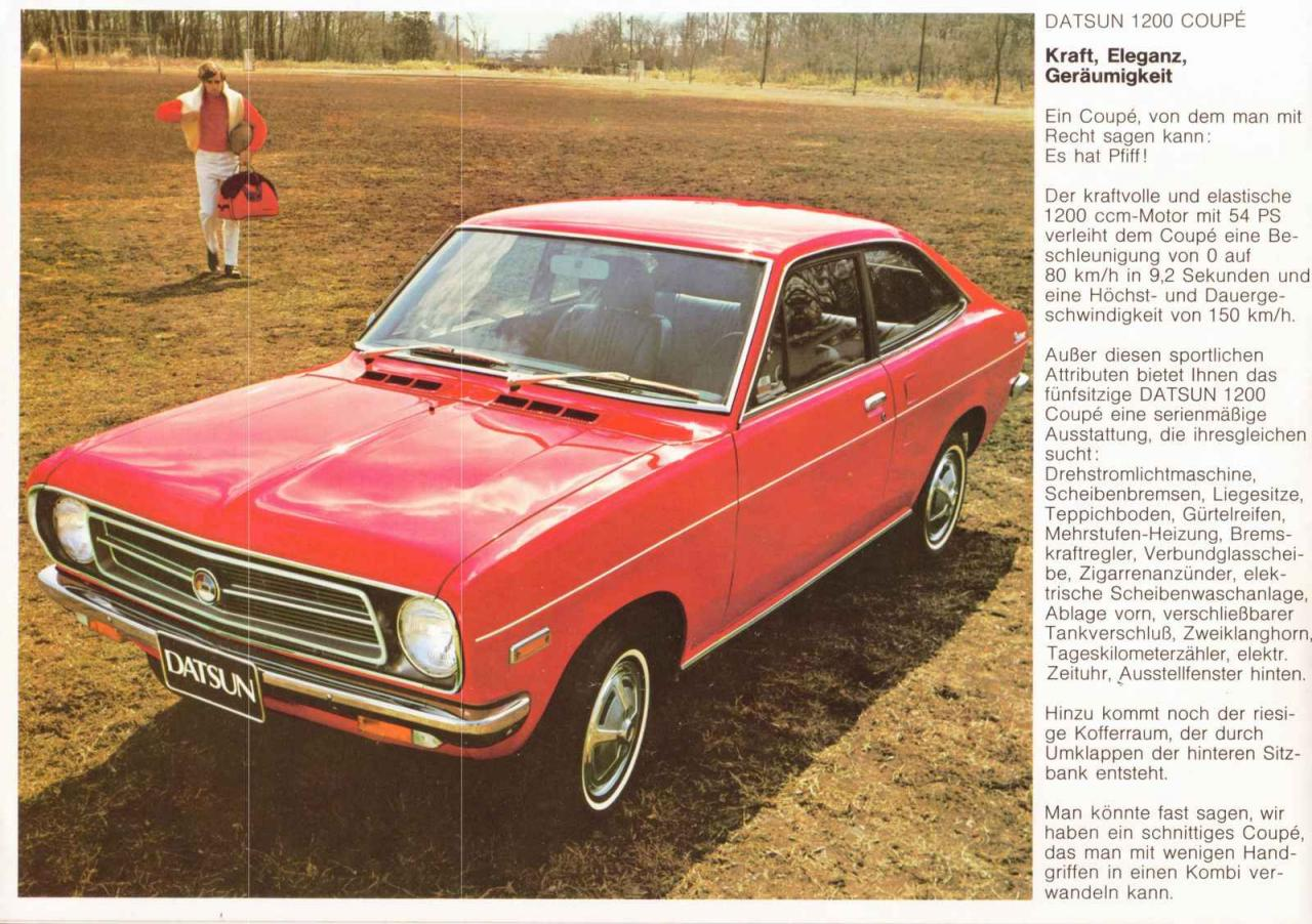 Datsun 1200 Limousine - 2