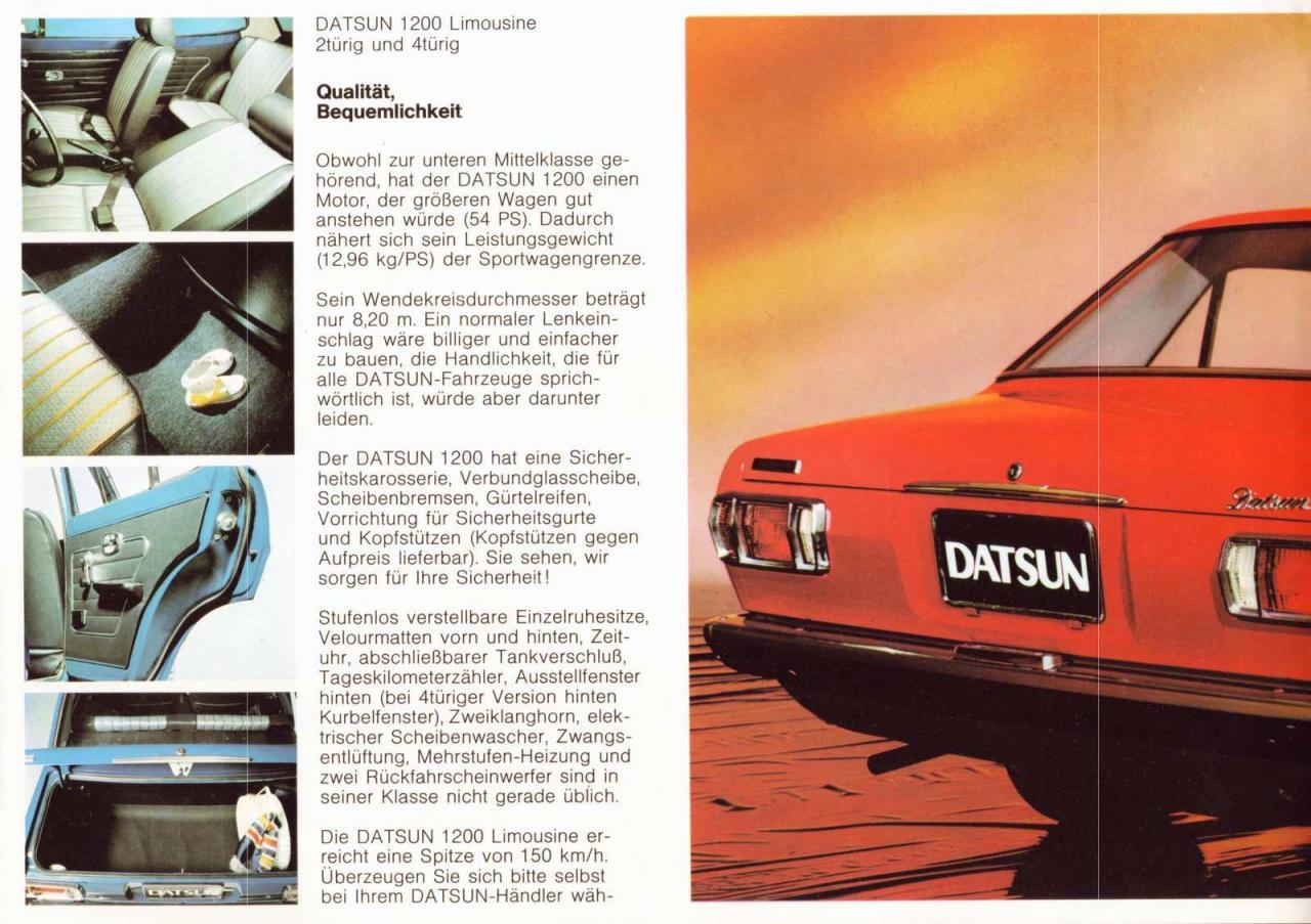Datsun 1200 Limousine - 3
