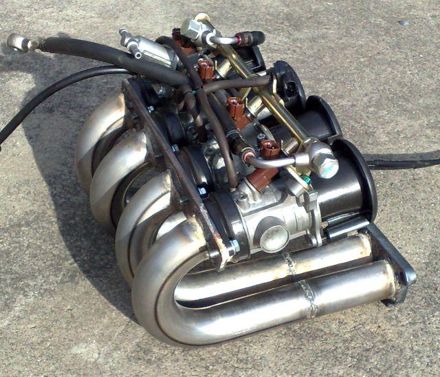 Quad throttle manifold 9
