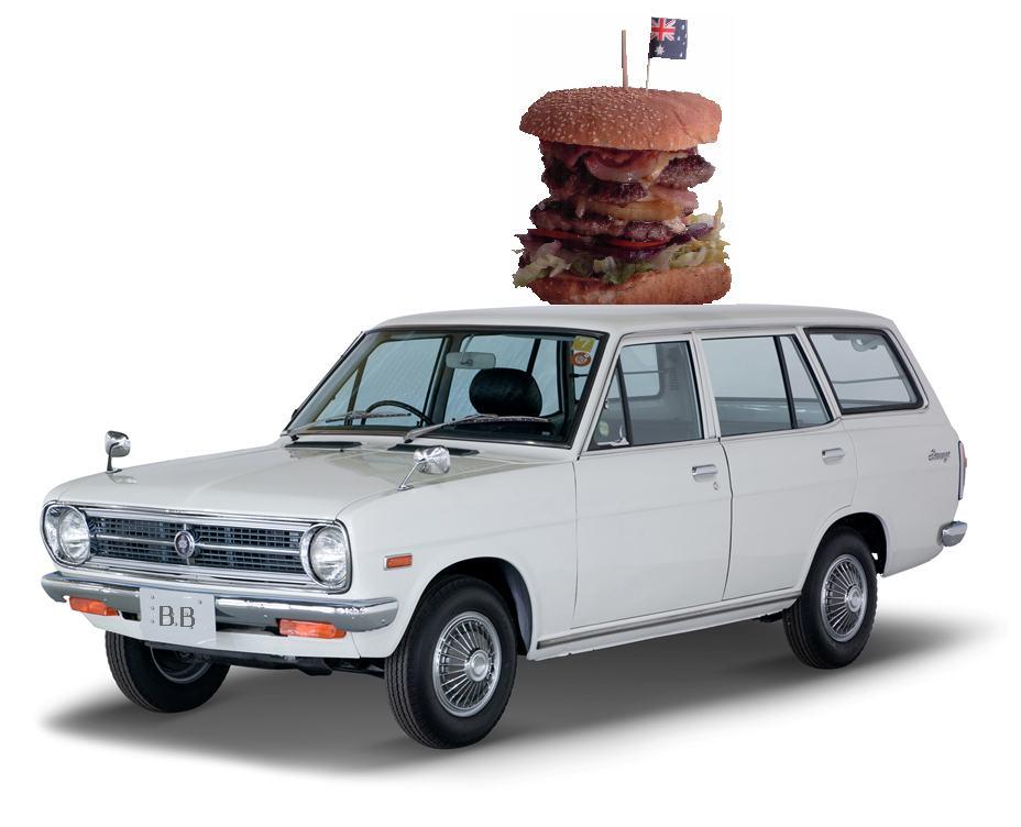 1200 wagon hauls burger
