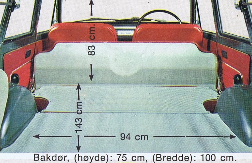 VB10 wagon dimensions/measurements