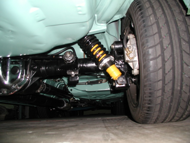 rear coilover suspension