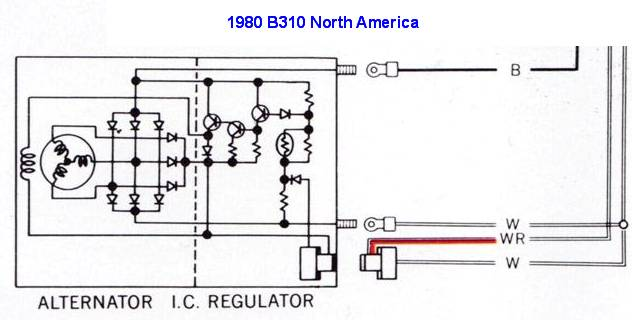 24950 tech wiki ir alternator conversion wiring datsun 1200 club yanmar hitachi alternator wiring diagram at fashall.co