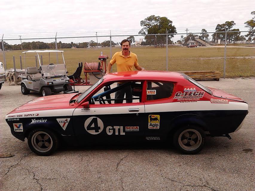 B210 race car exterior