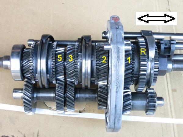 F5C56A sliding gear