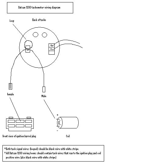 2708 tech wiki tachometer wiring datsun 1200 club saas tachometer wiring diagram at bayanpartner.co