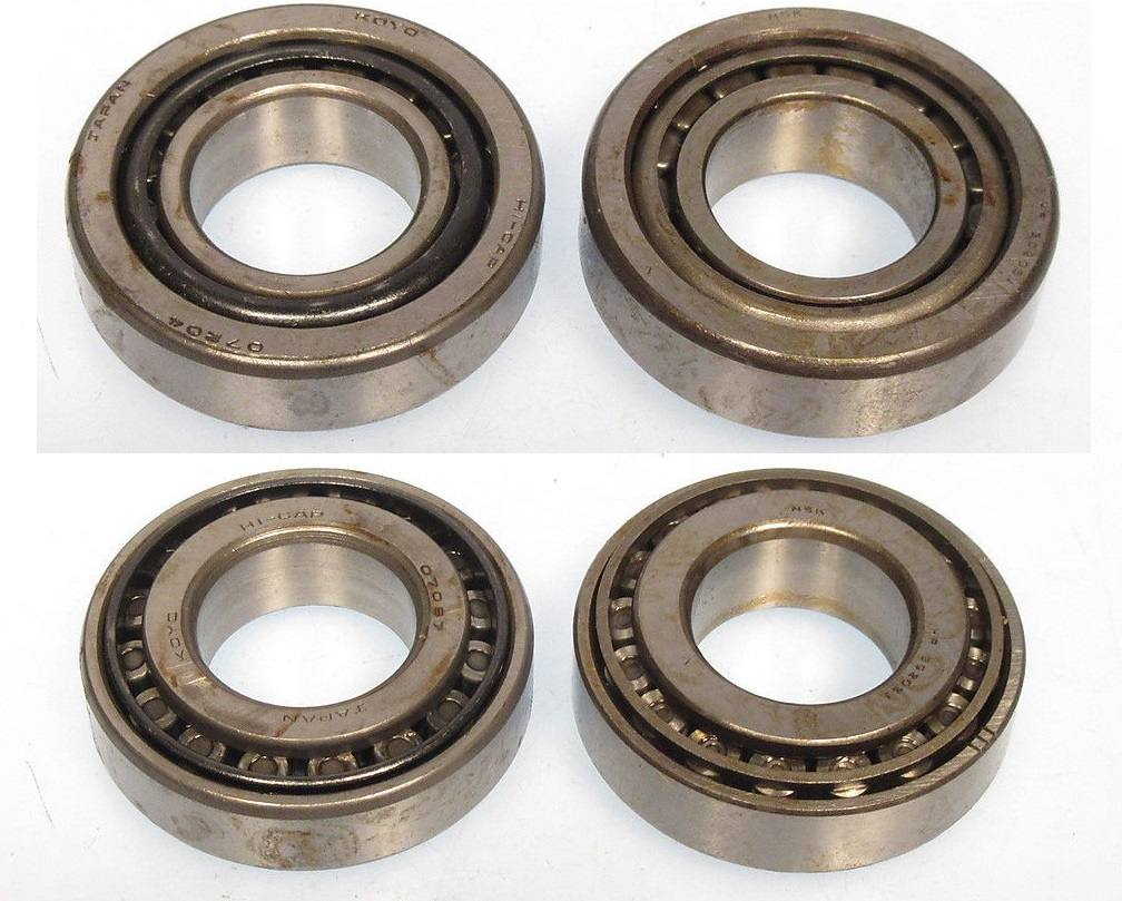 front inner wheel bearings