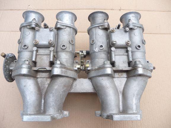 Weber dcoe42 and GX manifold 2